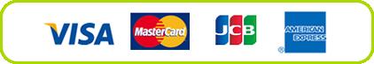 VISA / MasterCard / JCB / AMERICAN EXPRESS